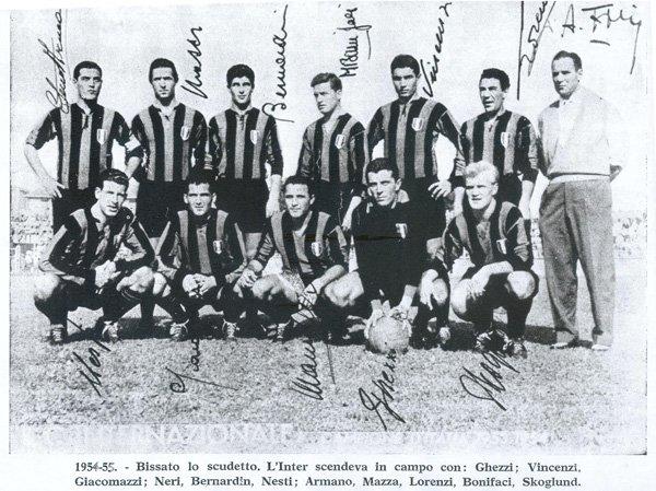 Inter '54 - '55